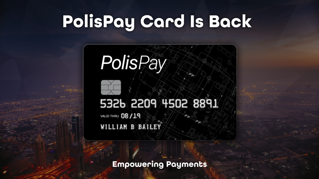 PolisPay Cryptocurrency Card