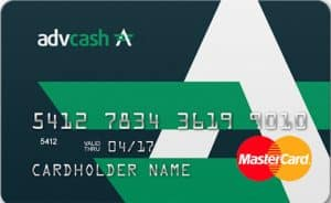 AdvCash Crypto Card