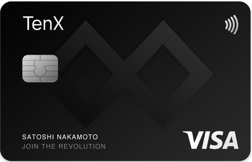 TenX Crypto Card